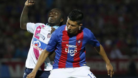 Junior empató 0-0 con Cerro Porteño por octavos de la Copa Sudamericana. (Foto: Agencias)