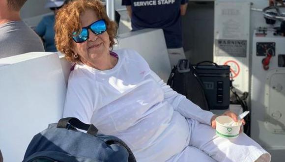 Esta foto proveída por Sally Noriega muestra a Hilda Noriega, de 92 años. Ella vivió en el edificio derrumbado por más de 20 años. (Courtesía de Sally Noriega vía AP).