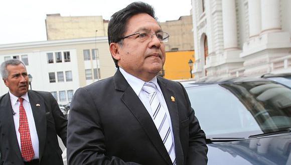 La destitución de Carlos Ramos Heredia podría ser anulada