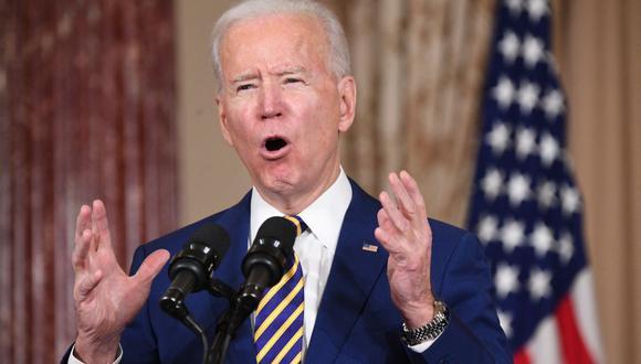 El presidente de Estados Unidos Joe Biden aprobó el retorno al Consejo de los Derechos Humanos de la ONU. (Foto: SAUL LOEB / AFP).