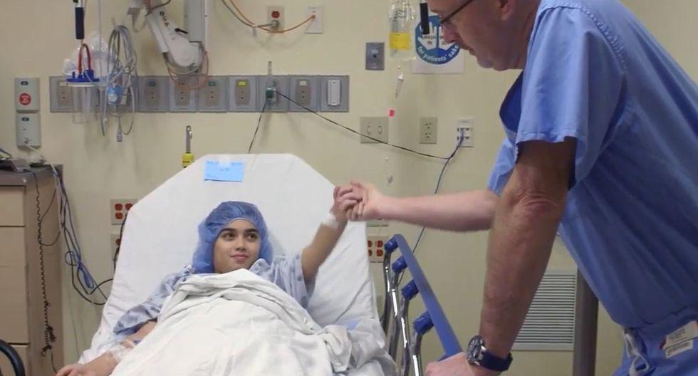 Un cirujano estadounidense se ganó la admiración en las redes sociales por la singular manera en la que atiende a los niños que opera | Foto: Akron Children's Hospital | Captura de YouTube
