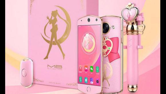 Empresa china crea smartphone inspirado en Sailor Moon