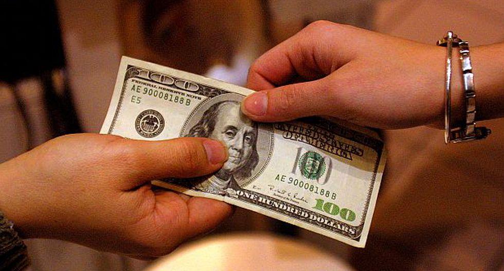 El tipo de cambio bajó a S/3,445, nuevo mínimo de más de un mes
