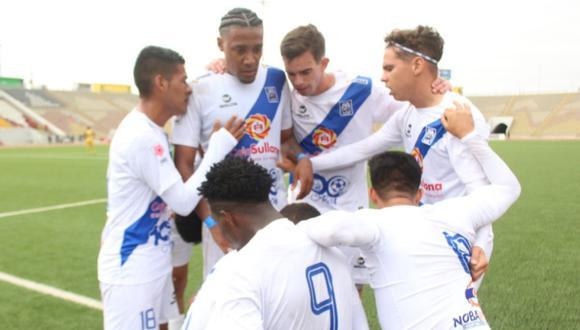 Alianza Atlético de Sullana, primer finalista de la Liga 2 tras vencer 4-2 a Sport Chavelines en el estadio de San Marcos | Foto: @LigaFutProf