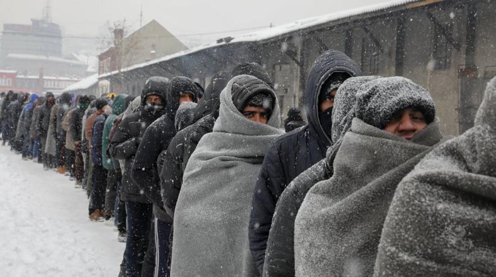Belgrado: El duro invierno de los refugiados a -15° centígrados - 12