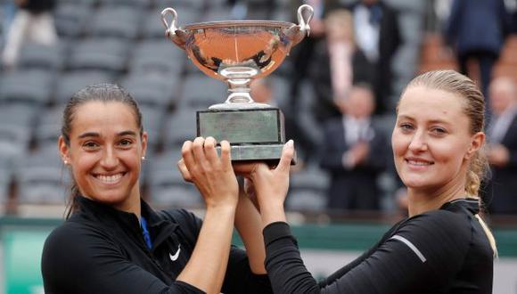 Roland Garros: francesas Garcia y Mladenovic ganaron en dobles