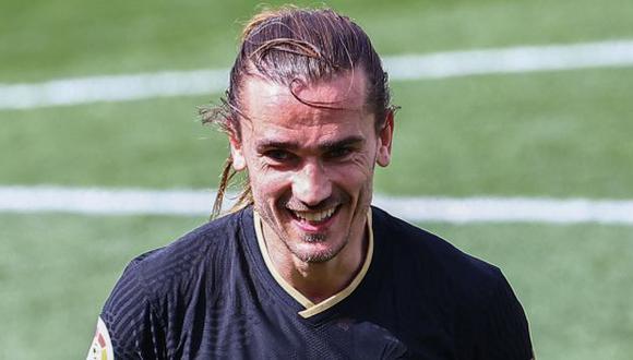 Antoine Griezmann llegó a 11 goles en la presente temporada de LaLiga. (Foto: AFP)