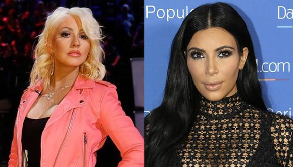 Christina Aguilera a lo Kim Kardashian: se desnuda en Instagram