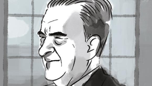 """""""No volví a ver a Ciro Alegría, pero al igual que los amigos antes mencionados, valió la pena conocerlo"""". (Ilustración: Víctor Aguilar)"""