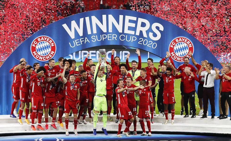 Bayern Múnich vs Sevilla: las mejores imágenes de la Supercopa de Europa 2020-2021. (Foto: EFE)