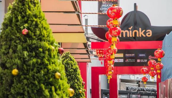 Minka recordó que todas sus tiendas de primera necesidad están abiertas al público.(Foto referencial: Minka)