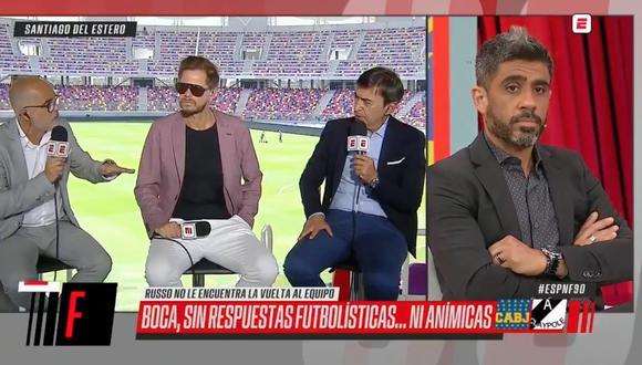 "Periodista de ESPN ""confirmó"" salida de Russo de Boca Juniors: ""El plan es Battaglia o que vuelva Guillermo"""