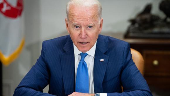"""Joe Biden exige al Gobierno de Cuba que no reprima con """"violencia"""" las protestas . (Foto: SAUL LOEB / AFP)."""