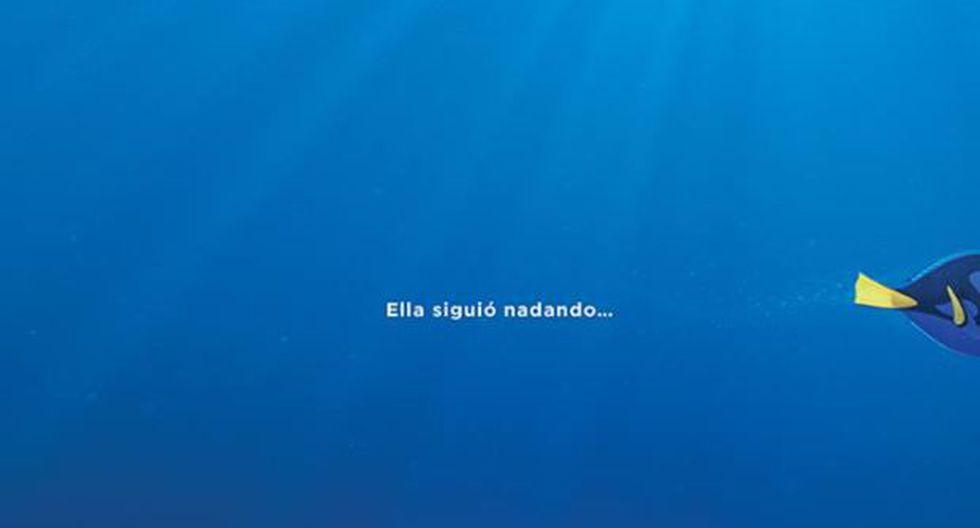"""Disney lanzó póster oficial de secuela de """"Buscando a Nemo"""""""