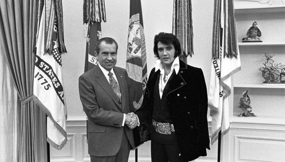 El día en que Nixon convirtió a Elvis Presley en agente secreto