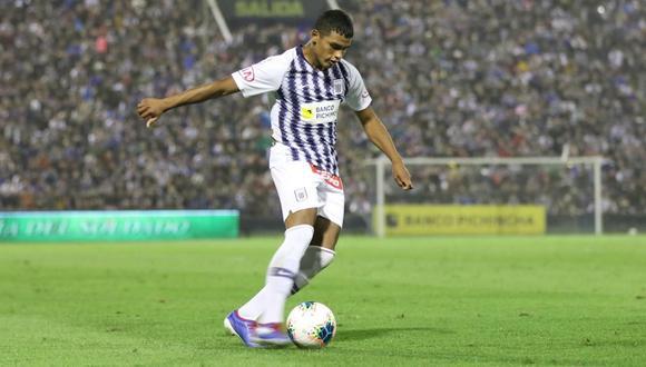 Kluiverth Aguilar, el futbolista más joven en debutar en la actual temporada. (Foto: Liga 1)