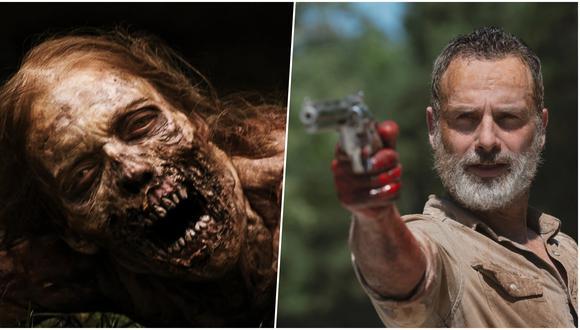 """""""The Walking Dead"""" llega a su fin sin su protagonista, Rick Grimes (Andrew Lincoln), y con sus peores cifras de visionado en vivo. Pero la franquicia aún tiene futuro. Fotos: AMC."""