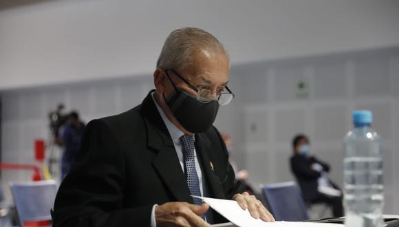 Pedro Chávarry fue suspendido por 18 meses por el Poder Judicial (Foto: Renzo Salazar)