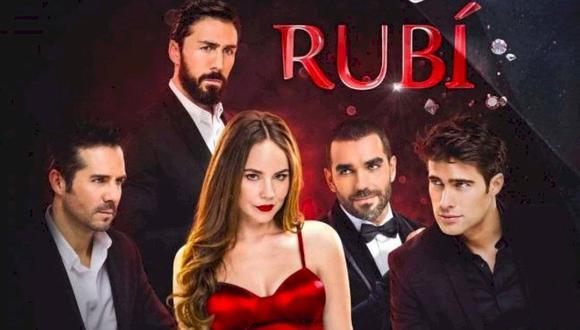 José Ron y Rodrigo Guirao son los galanes de la nueva versión de Rubí a cargo de Fabrica de sueños (Foto: Televisa)
