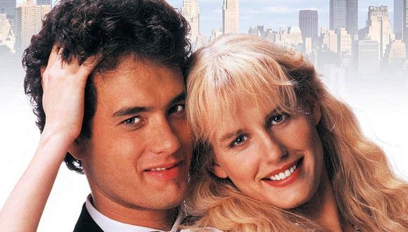 """Protagonizada por Tom Hanks y Daryl Hannah, """"Splash"""" sigue la historia de amor entre un humano y una sirena. (Foto: Difusión)"""