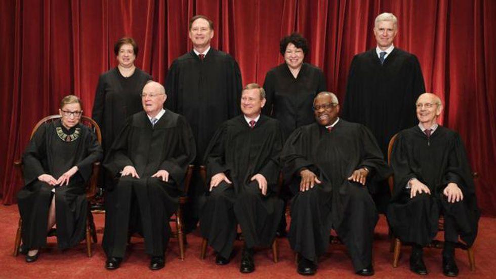 RBG se ha convertido en la voz más disidente de la Corte Suprema de Estados Unidos. (Getty Images vía BBC)