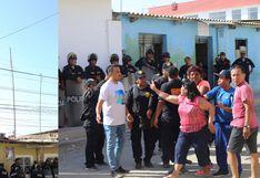 Sullana: vecinos se enfrentan a golpes con trabajadores para evitar instalación de antena telefónica | FOTOS