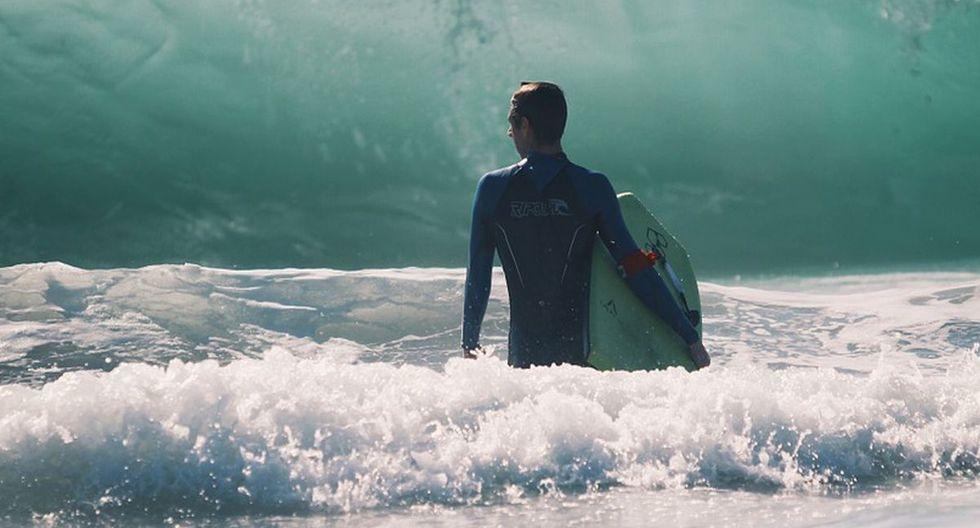 Un tablista vivió un incómodo momento cuando salía de una playa de Bali, en Indonesia | Foto: Pixabay / Free-Photos (Referencial)