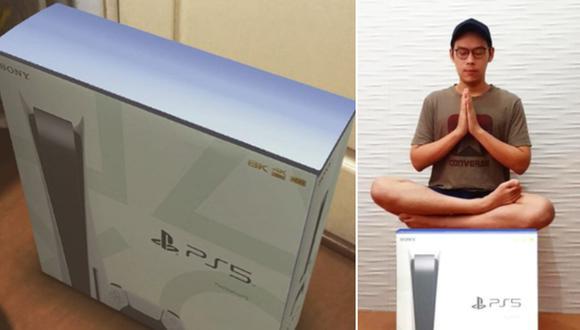 Muchas personas en el mundo ya usaron el famoso filtro llamado 'PS5 BOX'. (Foto: taomullettt y derenfirdaus / Instagram)