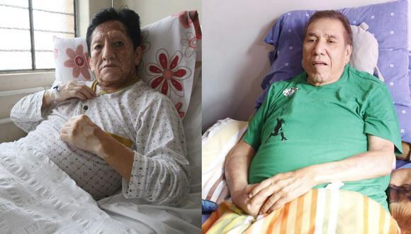 'Chato Grados' y 'Gordo Casaretto' se encuentran graves de salud. (El Comercio)