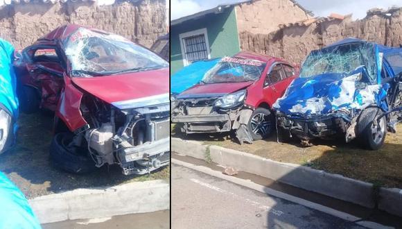 Entre las víctimas del accidente de tránsito se encuentra una menor de edad.