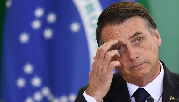 Jair Bolsonaro desiste de establecer base militar de Estados Unidos en Brasil. (AFP)