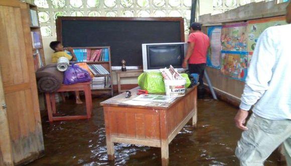 Loreto: clases escolares durarán hasta febrero del 2018