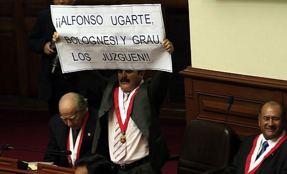 Jorge Rimarachín dice que sería un exceso que lo sancionen