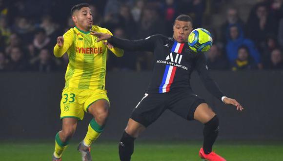 Percy Prado ya debutó en la Ligue 1 con Nantes. (Foto: AFP)