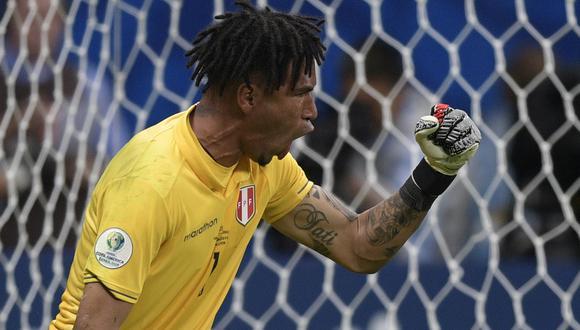 Gallese mantuvo su valla invicta en tres encuentros de la Copa América. (Foto: AFP)