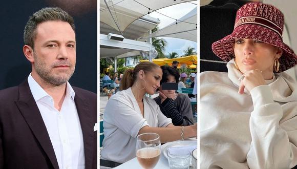 Jennifer Lopez y Ben Affleck empezar de nuevo a salir hace más de un mes. (Foto: Jean-Baptiste Lacroix AFP / Instagram @jlo)