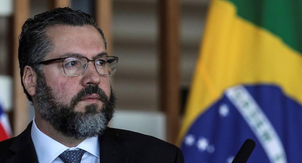 El canciller brasileño, Ernesto Araújo. (Foto: EFE)