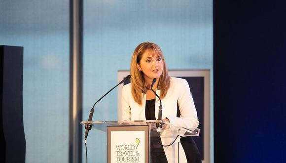 Gloria Guevara afirma que la reactivación del turismo se dará en etapas y que  primero se reanudarán los viajes nacionales.