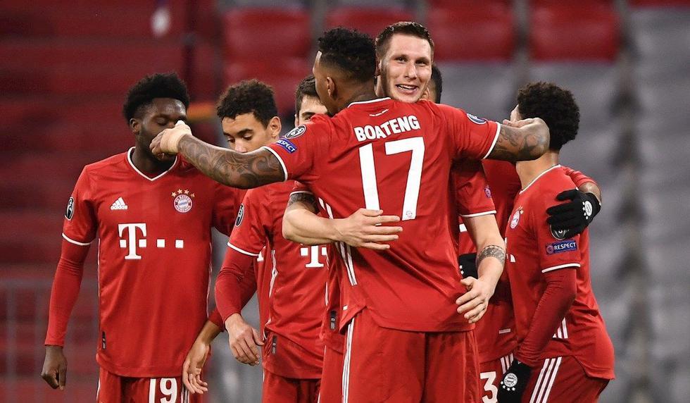 Bayern Múnich, vigente campeón de la Champions League, ganó el Grupo A. (Foto: EFE)