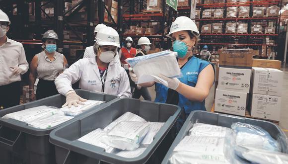 La presidenta Ejecutiva del Seguro Social, Fiorella Molinelli, es investigada por su presunta implicancia en la compra irregular de equipos médicos en el 2020 durante la pandemia por el COVID-19. (Foto referencial: EsSalud)