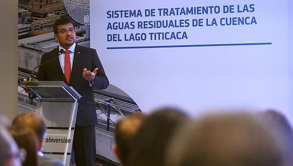 Las empresas interesadas en presentar propuestas para ejecutar el PTAR Titicaca pueden hacerlo hasta