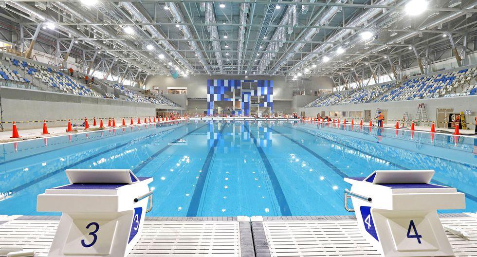 Las instalaciones de los Juegos Panamericanos contarán con Gas Natural para mantener la temperatura de las piscinas y duchas de los competidores.