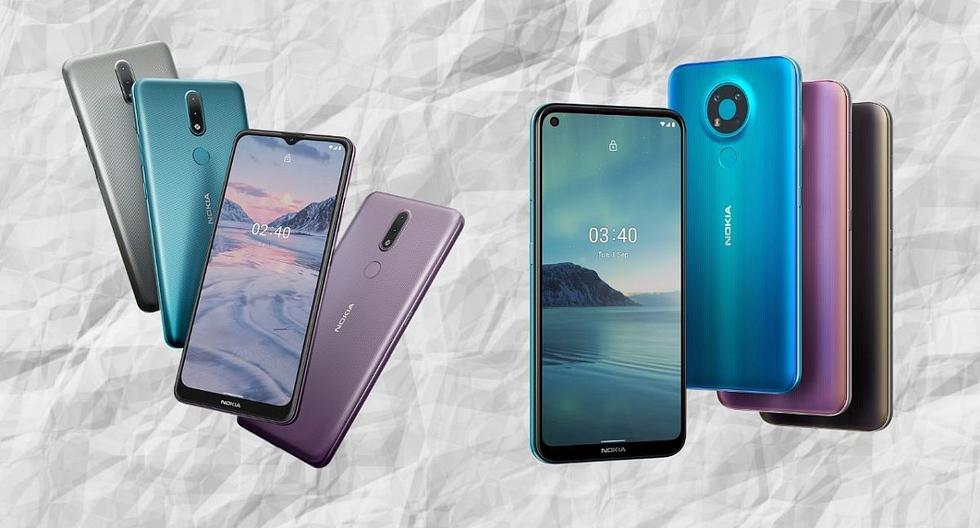 La finlandesa HMD Global renueva sus smartphones con el Nokia 2.4 y el Nokia 3.4. (El Comercio)