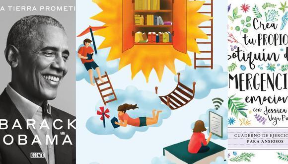 Lecturas de verano: de las memorias de Barack Obama al nuevo libro de autoayuda de Jessica Vega Puch.