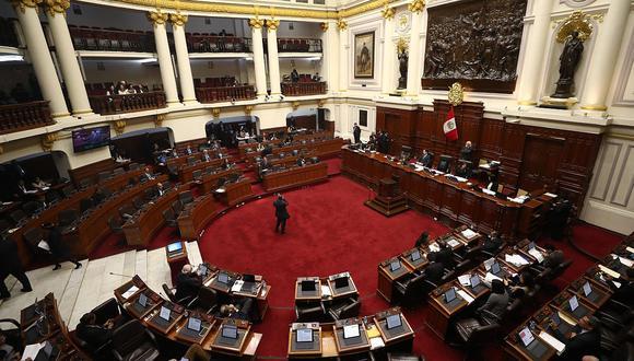 Ampliación de la legislatura se da para debatir el proyecto de la Ley Orgánica de la Junta Nacional de Justicia. (Foto: GEC)