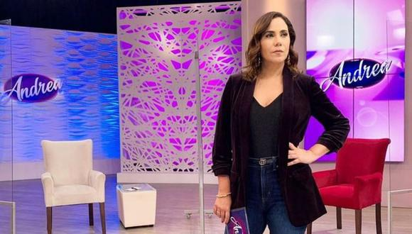 Andrea Llosa anunció que se separa de su esposo Luis Ávalos. (Foto: Captura ATV).