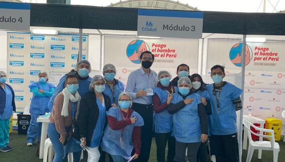 PJ rechazó pedido de Martín Vizcarra para anular el proceso y la inhabilitación que aplicó el Congreso en su contra por haberse vacunado contra el COVID-19 con las dosis de Sinopharm, sin ser parte del ensayo clínico en octubre del 2020. (Foto: Twitter)