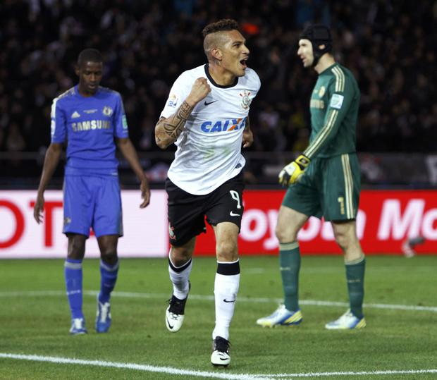 Paolo Guerrero is the last South American Club World Champion with Corinthians |  Photo: REUTERS