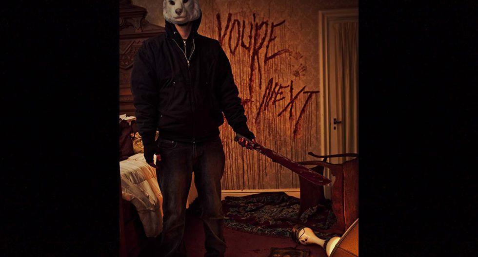 You're Next - 2011 | Este filme de terror de 2011 fue calificado por el portal de poco convincente, actuación pésima y edición pobre.