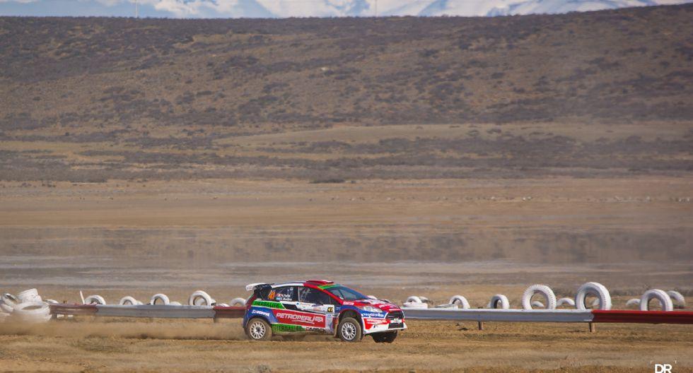 Fuchs empezó su participación en el Rally de los Glaciares - 10